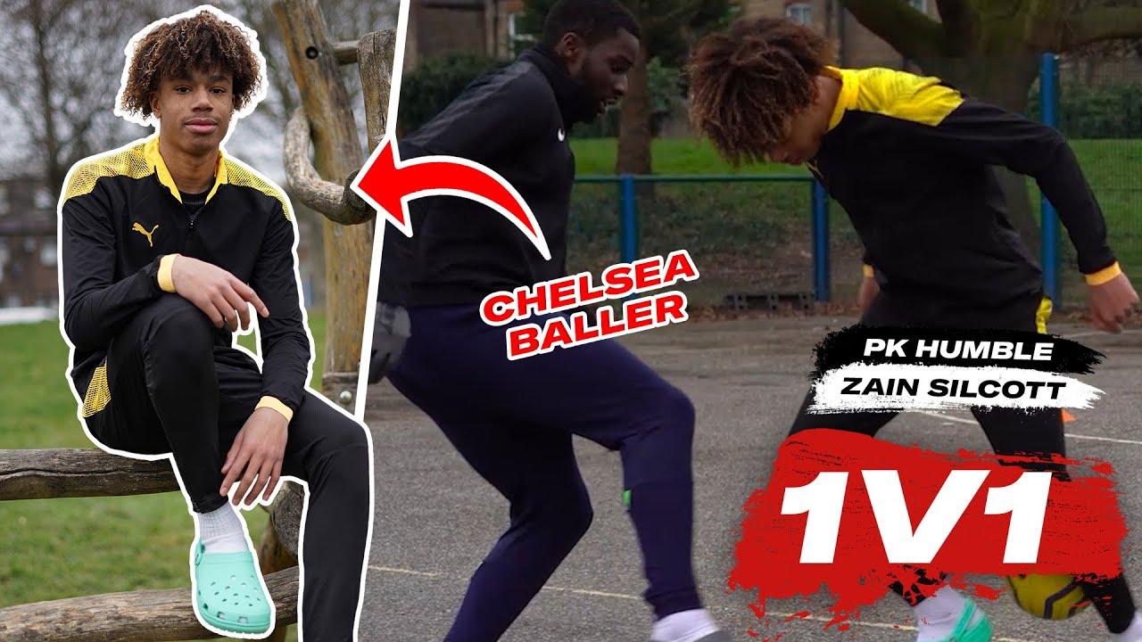 Download 🕺 PK HUMBLE vs ZAIN SILCOTT (Chelsea) 😂   1V1 S1 EP1