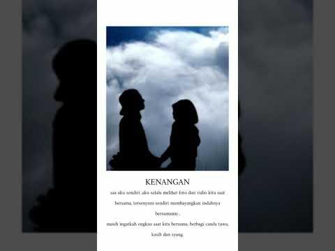 Hanya Rindu|| Story WA Sedih Buat Mantan Kekasih