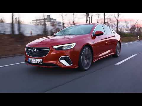 2018 NEW Opel Insignia GSi – The Sport Seats Technology