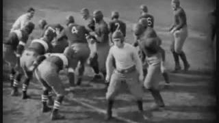 Harold LLoyd plays Football