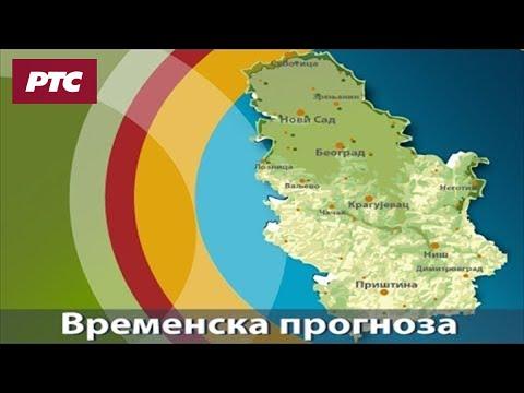Vremenska prognoza - 11. avgust 2017. do kraja dana