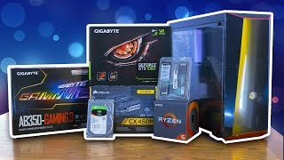 €900 AMD RYZEN GAME PC BOUWEN! - Build My Rig #9 Timelapse - TechTime