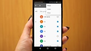 How to Delete Multiple or All Contacts in Android Phone (No App)