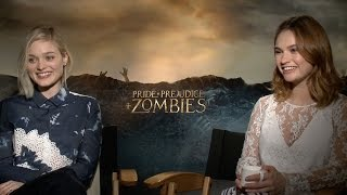 Lily James & Bella Heathcote Talk 'Pride & Prejudice & Zombies', 'Neon Demon' & 'Baby Driver'