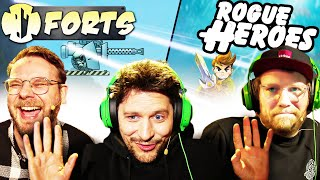 Aus Koop wird Beef | Forts + Rogue Heroes mit Eddy, Nils & Simon | BEANSTAG