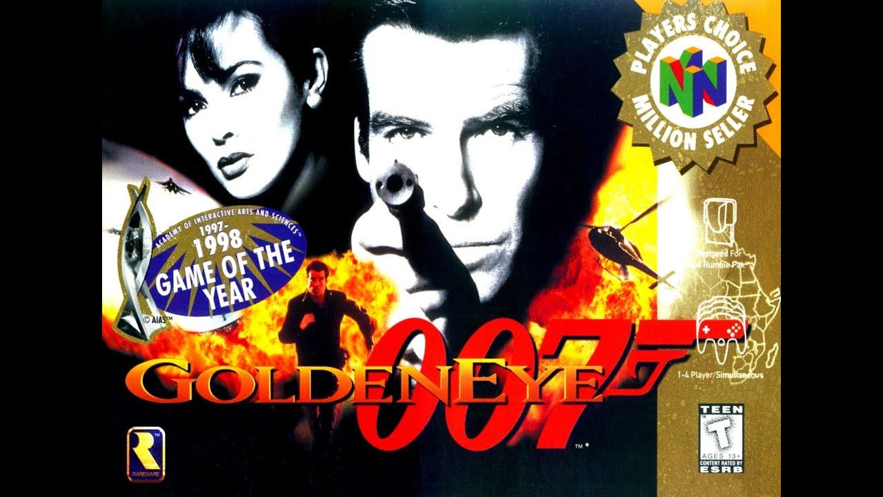 [Análise Retro Game] - 007 contra Goldeneye - Nintendo 64 Maxresdefault
