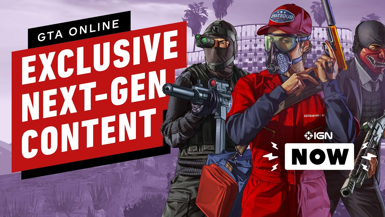 Exclusive PS5, Xbox Series X Content Coming to GTA Online - IGN Now - IGN