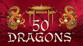 Wonder 4 Gold - 50 Dragons Slot - GREAT SESSION!