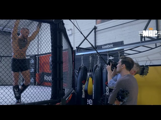 Conor McGregor hard sparring while filming UFC 205 Countdown show: The Mac Life series 2