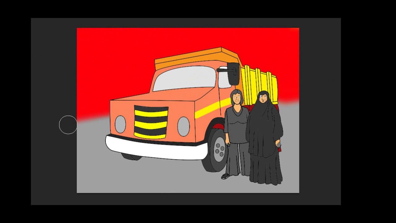 Kamyon Boyama 15 Temmuz 2 Serife Boz Youtube