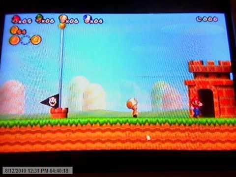 New Super Mario Bros. Wii (Coin Battle...