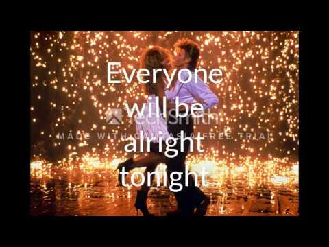 Tina Turner and David Bowie - Tonight LYRICS