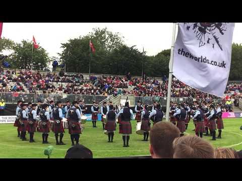 Field Marshal Montgomery Pipe Band - Grade 1 World Champions 2018 - Medley