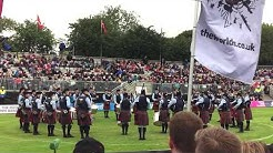 Field Marshal Montgomery Pipe Band - Grade 1 World Champions 2018 - Medley