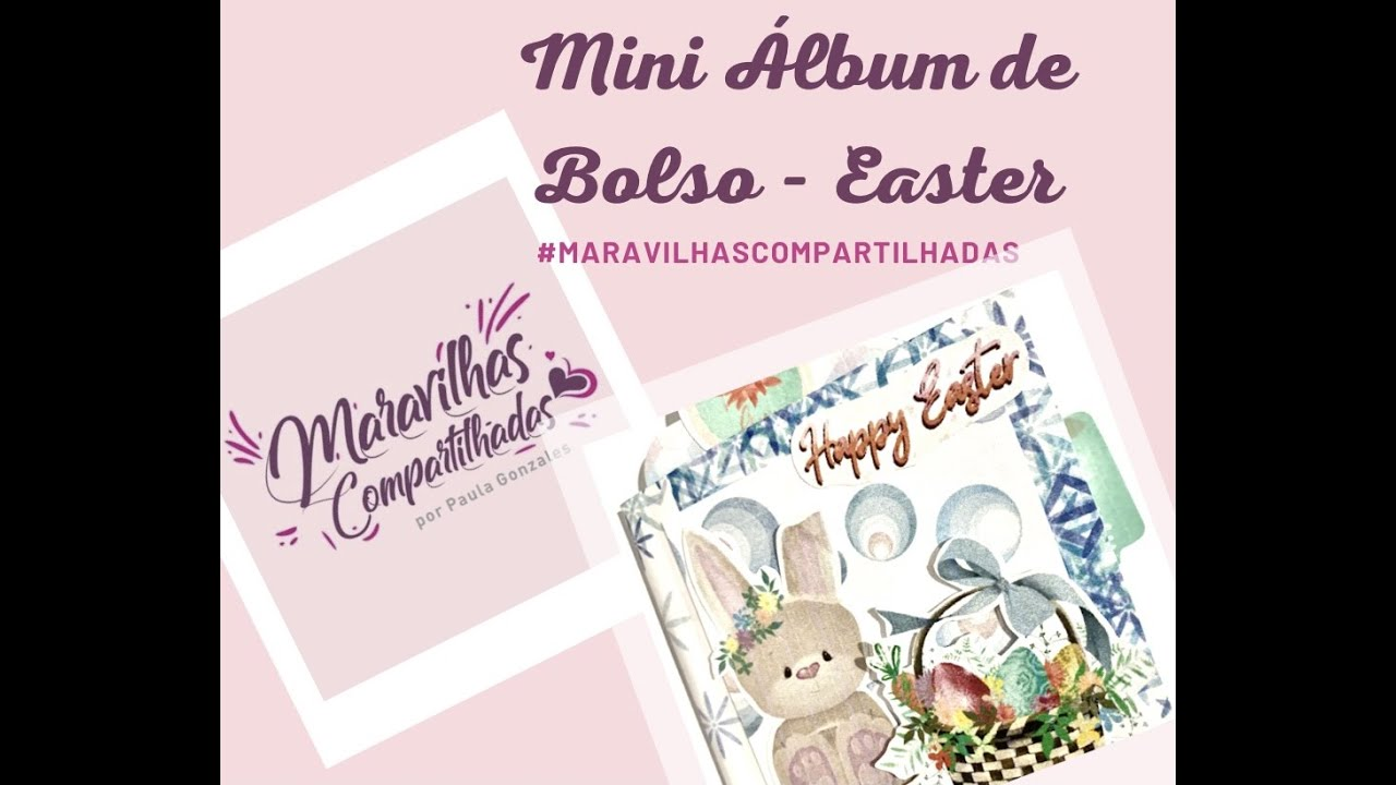 Mini Álbum de Bolso Easter
