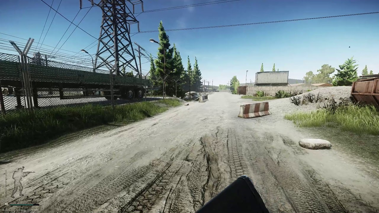 Trailer Park Workers Shack Scav Exit On Customs Escape From Tarkov Youtube