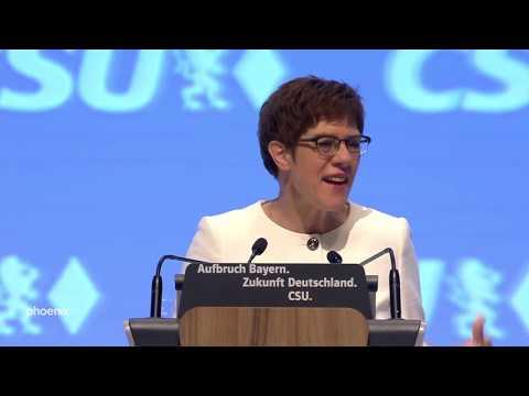 Rede CDU-Chefin Kramp-Karrenbauer