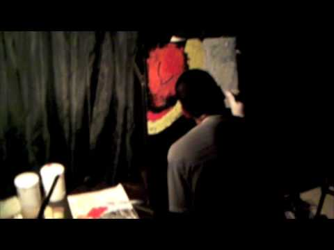 【FREEKS TEA PARTY 090822 】LEVI live paint @ Matching Mole