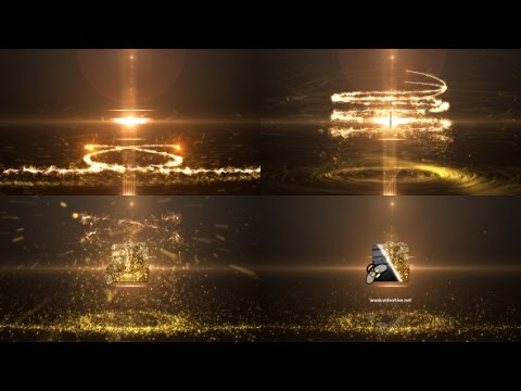 Glowing Particle Logo Reveal 8 — After Effects project | Videohive template