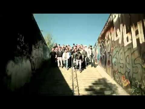 Deutsche Hooligans   Puma Hardchor ein bisschen Frieden