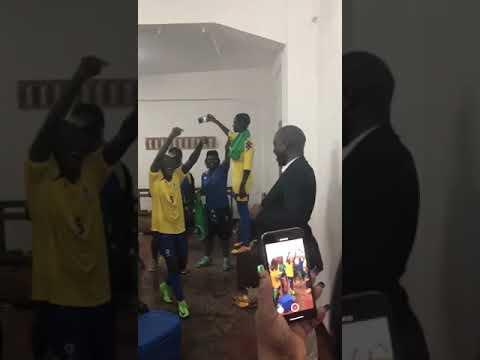 La joie des Panthères Féminines après leur victoire 2-0 face aux Diables Rouges du Congo Féminines