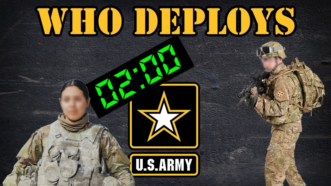 Download Who gets deployed in the Army