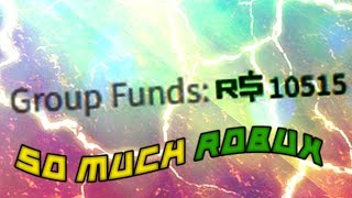 ROBLOX Making Money R$0 to R$50k | WE GOT 10k+ GROUP FUNDS!! #17