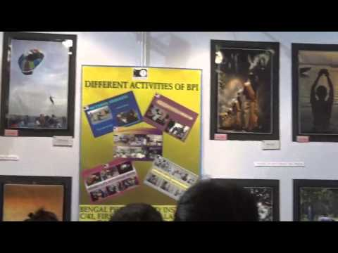 Bengal Photography Institute Stall At TTF 2014 At Kolkata (Calcutta), India HD Video