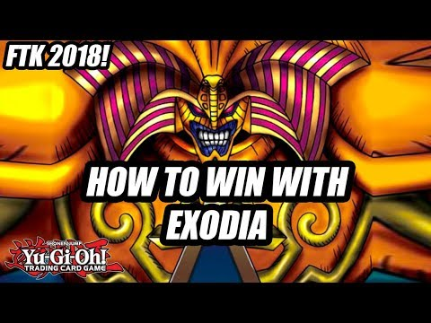 Yu-Gi-Oh! EXODIA DECK 2018 IN ACTION! FIRST TURN EXODIA FTK! EXODIA OBLITERATE! (YGOPRO 2018)