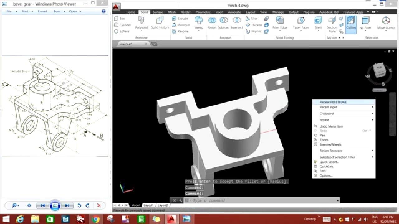 Autocad Mechanical 3d Design The Image
