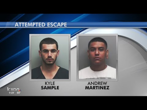 2 Hays County Inmates Involved In Escape Attempt In McLennan County