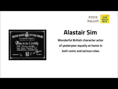 ALASTAIR SIM - FROM THE STEVE NALLON VOICE BOX