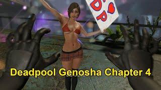 لعبة ديدبول تختيم المرحلة الرابعة جينوشا - Deadpool Genosha Chapter 4