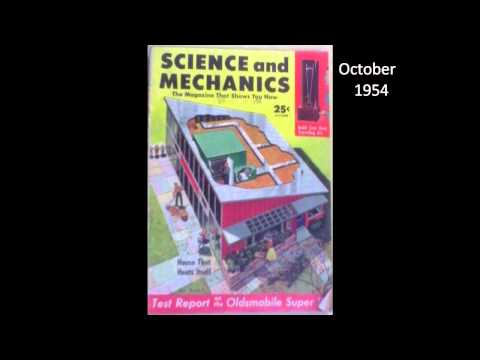 Cameron Books - Science & Mechanics magazine - magazine covers from the 1950's & 1960's