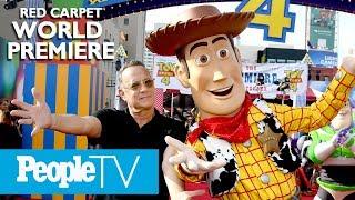 Дісней·Піксар - Історія Іграшок 4 Світова Прем'єра Червоний Килим: Том Хенкс, Кіану Рівз І Більше | PeopleTV