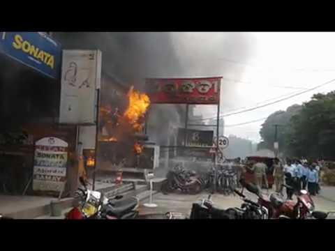 #Fire at Arundhati Jewellers # Balangir