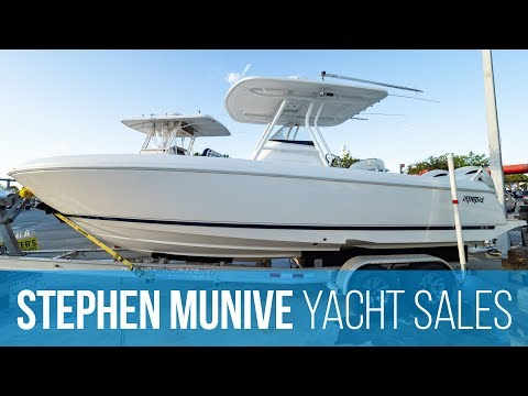 Intrepid 245 Center Console (2013) with Twin Yamaha 200HP Outboard Engines — Runthrough