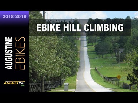 Climbing hills on your ebike