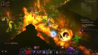Diablo III PTR 2.1.2 Greater Rift 41 Firebird Serpent