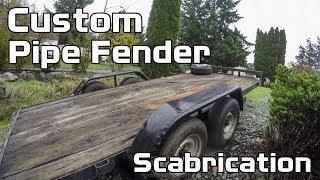 Custom Pipe Fender Trailer  Scabrication - Pathmaker Speed Shop