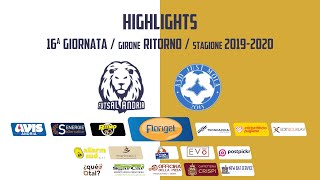 HIGHLIGHTS - Florigel Futsal Andria vs. Just Mola 7-1