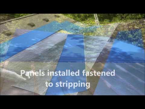 Custom Metal roofing installed over shingles | valley flashings