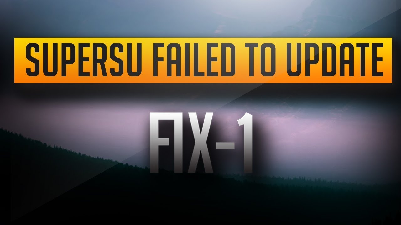 The binary SU file needs updating: what to do