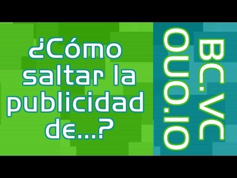 ✔2 en 1 | Como descargar de OUO.IO y BC.VC | Como saltar la publicidad | Como descargar de mi canal