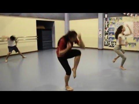"""""""Near light"""" Olafur Arnalds impro danse"""