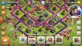 Mi primer video de clash of clans