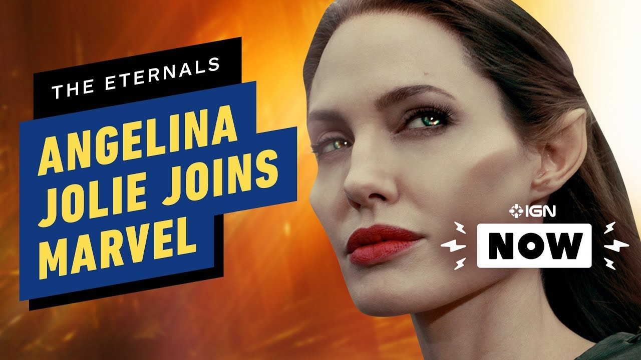 Angelina Jolie Is Officially Joining The Marvel Cinematic Universe With The Eternals