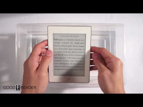Barnes and Noble Nook Glowlight Plus Waterproof Test