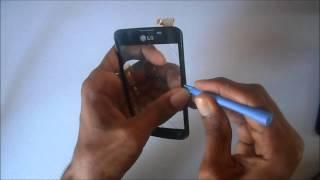 Como trocar touch display lg l5 E455