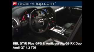 Radarwarner BEL STiR Plus GPS Antilaser ALG9